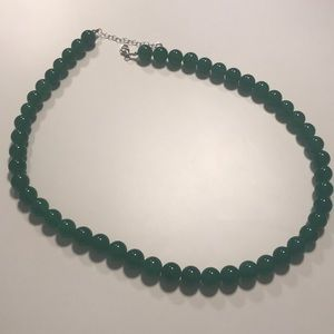 JTV Green Jadeite Necklace